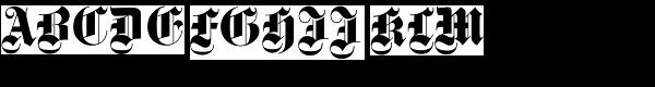 Fette Gotisch D  What Font is