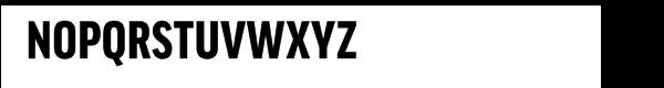 FF Good Pro Condensed Black Font UPPERCASE