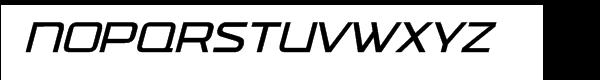 FF TradeMarker Light Italic Alt Font UPPERCASE