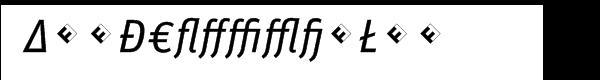 FF Unit Italic Alt Exp Font UPPERCASE