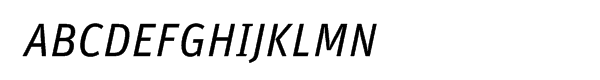 FF Unit Regular Italic Alt  What Font is