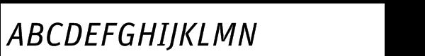 FF Unit Regular Italic  What Font is