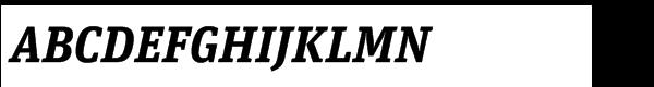 FF Unit Slab Std Bold italic  What Font is