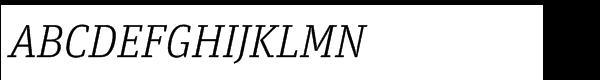 FF Unit Slab Std Light Italic  What Font is