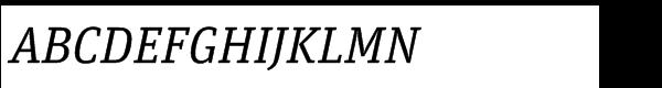 FF Unit Slab Std Regular Italic  What Font is