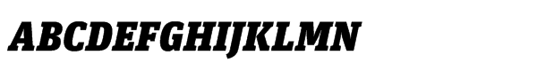 FF Unit Slab Std Ultra Italic  What Font is