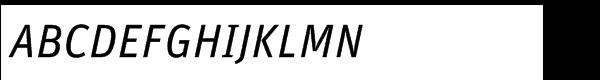 FF Unit Std Regular Italic  What Font is