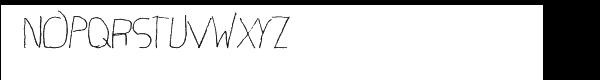 First Grade Font UPPERCASE