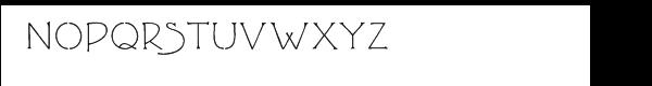 FLLW Terracotta™ Regular Font UPPERCASE