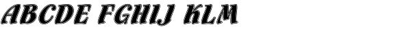 Flamenco Inline LET  What Font is