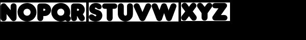 Frankfurter SH-Bold Font LOWERCASE
