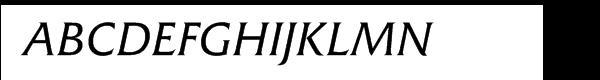 Friz Quadrata Italic  What Font is