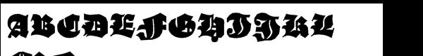 Ganz Grobe Gotisch Std Regular  What Font is