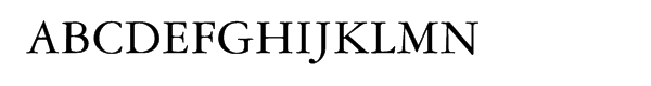 Garamond 3™ SmallCaps & OSF  What Font is