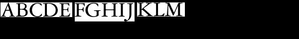 Garamond DT Roman  What Font is