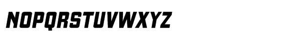 Gaz Std Heavy Italic Font UPPERCASE