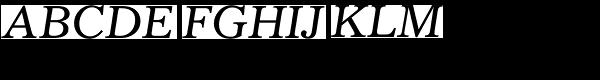 Gazette LTStd-Italic  What Font is
