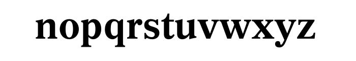 Gazette Std Bold Font LOWERCASE