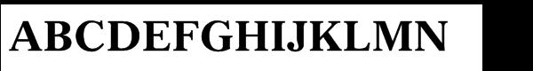Gazette® Std Bold  What Font is