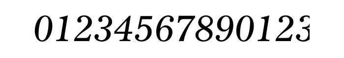 Gazette Std Italic Font OTHER CHARS