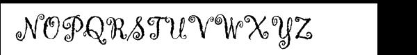 Gigi™ Com Plain Font UPPERCASE