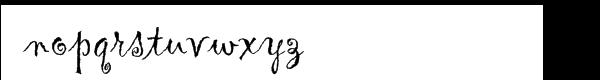 Gigi™ Com Plain Font LOWERCASE