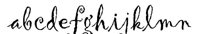 Gigi™ Font LOWERCASE