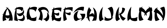 Ginko Font LOWERCASE