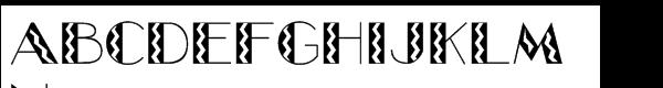 Glitzy Std Flash  What Font is
