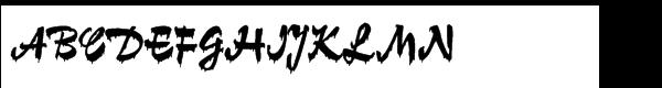 Gloss Std Regular  免费字体下载