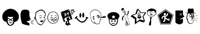Good Head Font UPPERCASE