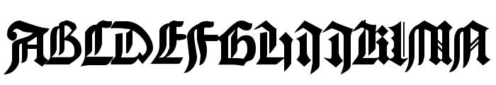 GoodCityModern Plain Font UPPERCASE