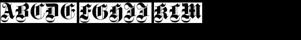 Gotisch SB-Bold  What Font is