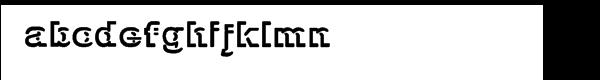 GP Insinue Font LOWERCASE