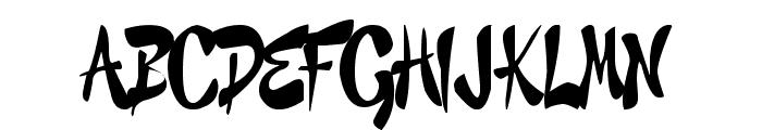 GRAFFITI CHEECKS STYLE - URBAN  What Font is