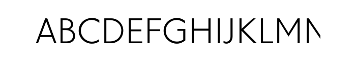Granby Light OT  What Font is