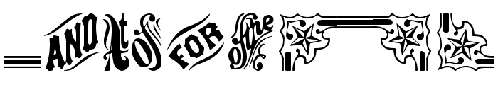 GriffinTwo Font OTHER CHARS