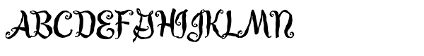 Guedel Script JF  What Font is