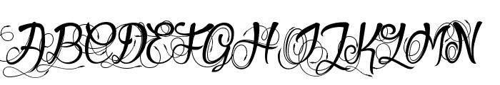 Gueules de Loup  What Font is