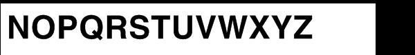 Helvetica® Std LT Bold Font UPPERCASE