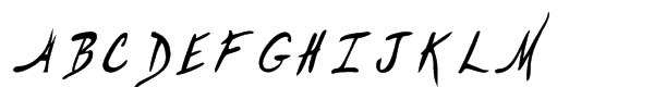 Hemingway's Shotgun Regular  What Font is