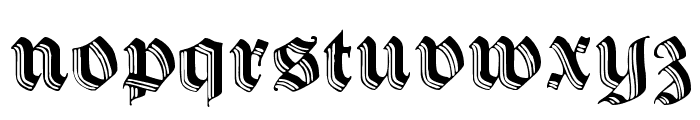 Hermann-Gotisch Font LOWERCASE