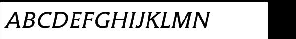 Hybrid Medium ItalicMultilingual  What Font is
