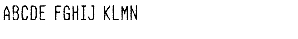 Hypermarket Cond Light Font UPPERCASE