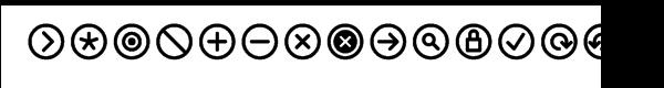 InfoBits Symbols  What Font is