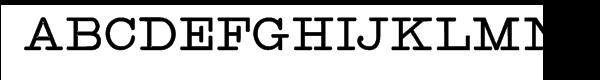 Intellecta Typewriter 2 Black  नि: शुल्क फ़ॉन्ट्स डाउनलोड