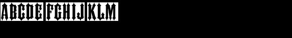 Ironhorse  What Font is