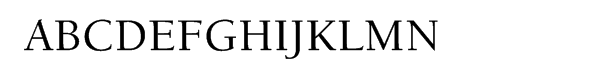 ITC Berkeley Old Style® CE Medium  What Font is