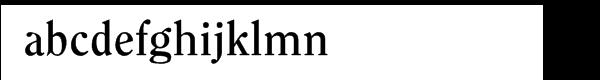 ITC Clearface Pro Bold Font LOWERCASE