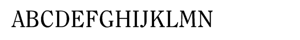 ITC Clearface® Regular  What Font is